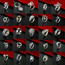 SPECIAL OFFER NEW SOLID 925STERLING SILVER JEWELRY MEN WOMEN RING XMAS GIFT