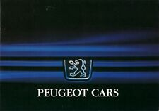 Peugeot 1995-96 UK Market Sales Brochure 106 205 306 405 605 806