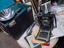 rare graflex camera speed graphic original box model SYNCHRONIZER orig bill & ca