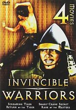 INVINCIBLE WARRIORS-4 MOVIE BOX SET. English DUB.Rare Kung Fu DVD