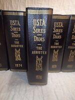 1978 USTA Sires & Dams Yearbook Trotting Register trotting horses harness racing