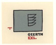 Ex Libris Cees Andriessen : Geerth