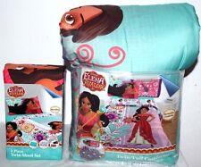 ELENA OF AVALOR TWIN BED SHEET  4PC W/ REVERSIBLE COMFORTER SET GIRLS BEDSHEET