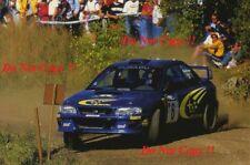 Juha Kankkunen è SUBARU IMPREZA S5 WRC 99 rally di Finlandia 1999 fotografia 1