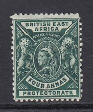 BRITISH EAST AFRICA  QV  4a deep green  SG 70  mounted mint