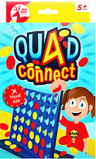 Connect 4 - Travel Quad Connect Four - Board Games - Toys 4 in a row 2 players