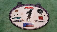 OLD SCHOOL BMX SOLO PLATE NUMBER PLATE HOT SHOPPE VINTAGE RARE HTF