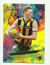 2017 Footy Stars HAWTHORN JAMES SICILY Parallel Holo Foil HF89 CARD FREE POST