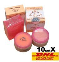 10X Set Collagen Plus Vit E Cream DAY & NIGHT Collagen Soap Whitening Skin Clear