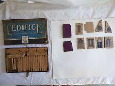 L'EDIFICE - ANCIEN JEU DE CONSTRUCTION - OLD CONSTRUCTION GAME - BOIS / WOOD