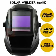 Auto Darkening Welding Helmet For Plasma Grinding Solar Lithium Dual Power