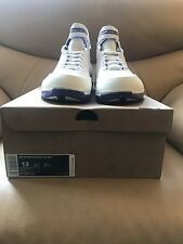 Nike Zoom Huarache 2k4 Kobe Bryant Lakers White Silver Purple Size 13