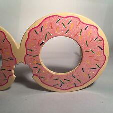 Doughnut Glitter Novelty Faux Sunglasses Party Festival Opia Primark