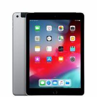"""APPLE iPad 6ème gén 32 Go Gris sidéral 9,7"""" Wi-fi + cellulaire bloqué iCloud"""