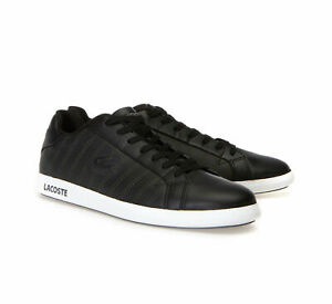 NEW Mens Shoes GRADUATE Casual Lth/Syn Black/Grey Sneakers 8