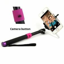 3.5mm Wired Remote SELFIE Monopod Extendable Handheld Holder For iPhone6 Samsung