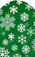20 water slide nail art transfer green white snowflake full