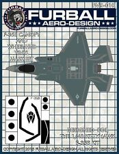 Furball Aero Design 1/48 #MS010 F-35B Lightning II Vinyl Mask Set for Kitty Hawk