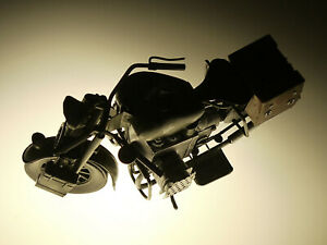 PRL) HARLEY-DAVIDSON USAF WWII BIKER BIKE MOTOCICLETTE MOTORCYCLE LATTA TIN TOY