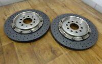 2 x AUDI A8 S8 4E & RS6 4F KERAMIK 356 x 28 mm BREMSE CERAMIC 4E0 VW PHAETON