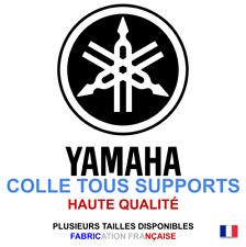Stickers autocollant Yamaha noir logo plusieurs tailles, super prix