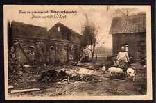 75856 AK Bauerngehöft bei Lyck Ostpreußen Kriegsschauplatz 1916