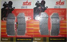 2 X SBS Bremsbeläge vorn 830H.HS HARLEY DAVIDSON VRSCD 1130 Night Rod ab Bj.2006