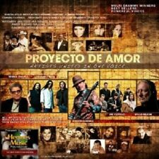 PROYECTO DE AMOR FEAT.CARLOS SANTANA,WILLIE NELS  CD NEW+