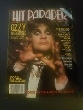 Hit Parader Magazine July 1983 Ozzy Osbourne Iron Maiden Joan Jett