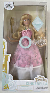 NEW Disney Cinderella Premium Doll with Light-Up Dress and Magical Sounds 11''