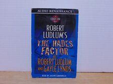 Robert Ludlum's The Hades Factor read by Joseph Campanella Cassette Audiobook