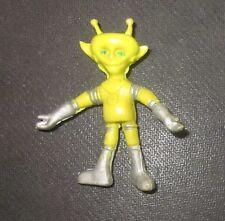 Colorforms Colorform Alien Outer Space Men mini rubber bendy Alpha 7