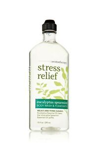 Bath & Body Works Aromatherapy Stress Relief Eucalyptus & Spearmint Body Wash