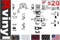 Rdash Dash Kit for Mitsubishi Montero 2001-2006 Auto Interior Decal Trim