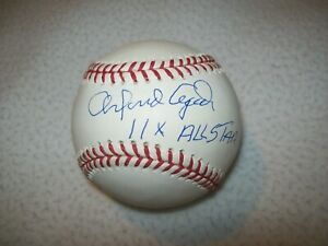 Autograph Warehouse 75782 Orlando Cepeda Autographed Baseball Inscribed Baby Bull