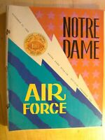 Notre Dame vs Air Force November 22 1969  Football Game Program Magazine