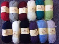 10 x 50g Sirdar Country Style 4ply Wool/Yarn for Knitting/Crochet