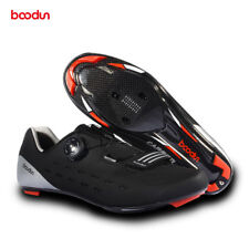 Boodun Aero Cycling Shoes Road Bike Racing Bicycle Shoes Carbon Fiber Self-lock