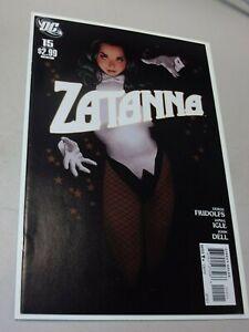Zatanna #15 (DC) RARE Adam Hughes Beautiful HTF Low Print Run Comic
