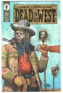 Dead in the West #2 ~ DARK HORSE 1994 ~ Joe Lansdale - Tim Truman NM