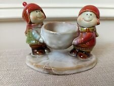 Yankee Candle Ceramic Tea Light Holder, Kids, Snowball by Ronnie Walter