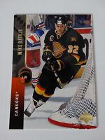 1994-95 Upper Deck #45 Murray Craven Canucks Hockey Error Wrong Name Card