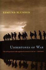 Undertones of War: By Blunden, Edmund