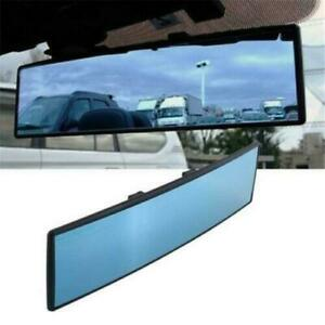 Car Interior Panoramic Anti Glare Wide Angle Rear View Mirror Packing Rearview ^