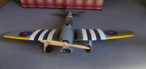 RC PLANE DYNAM HAWKER TEMPEST V WITH RETRACTS