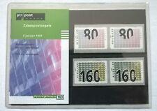 "Nederland PTT postzegelmapje 163 ""Zakenpostzegels"" 1997"
