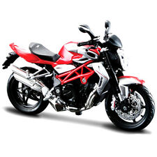 Maisto MV Agusta Brutale 1090 RR Bike Motorcycle 1:12 11097 Red Silver