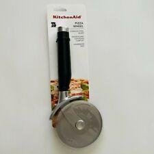 Kitchenaid Pizza Wheel Cutter Stainless Steel Dishwasher Safe Onyx Black NWT