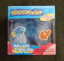 Undersea Paradise Mini Aquarium With Light By Wan Da, New In Box