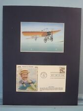 Pioneers of Aviation - Louis Bleriot & Wright Brothers stamp First Day Cover